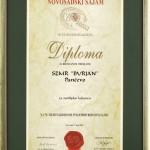 Priznanja 2003 - 05