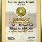 Priznanja 2007 - 09