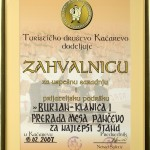 Priznanja 2007 - 10