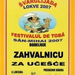 Priznanja 2007 - 11